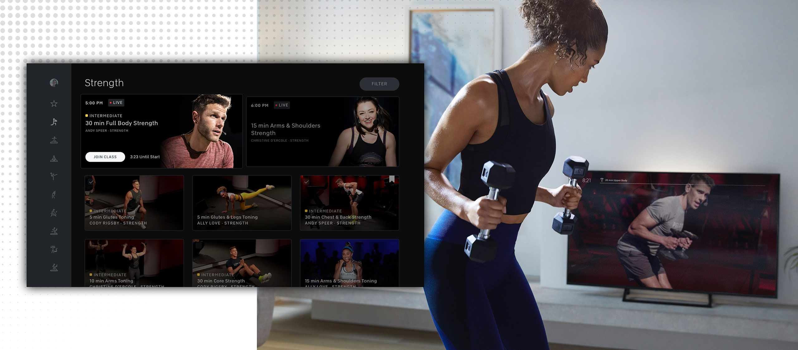 Get More From Your Membership With New Peloton Apps for Amazon ...